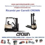 Ricambi per Carrelli e Transpallet Crown