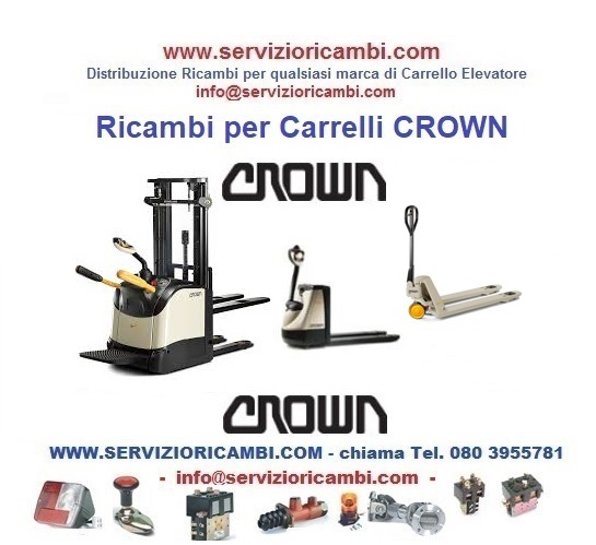 Transpallet Elettrici CROWN da WE2300-1.2 a WP3080