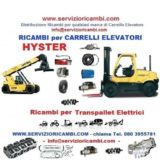 Ricambi per carrelli Reach stacker Hyster