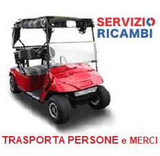 Ricambi per Golf car Trasporta Persone e Club car