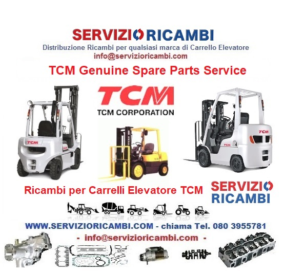 Ricambi TCM Spare Parts Service