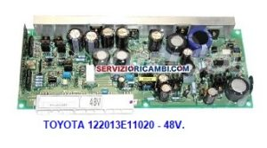 logic cards Toyota 122013E11020 - 1220132-E11020 - 09583690877 - 09583271479